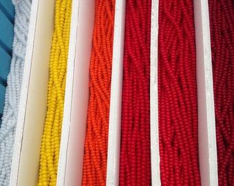 Size 6 Czech Seed Beads