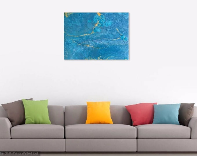 Acrylic and Resin Art - Digital prints on canvas and fine art paper