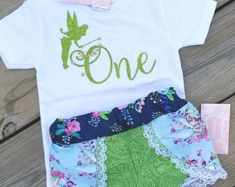 Tinkerbell outfit- tinkerbell shorts - tinkerbell shirt - Coachella shorts- fairy outfit-fairy shorts