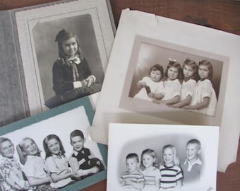 Old Photographs of Children and Siblings