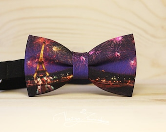 Eiffel Tower Bow tie - Bowtie