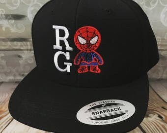 Personalized Youth Spider Man Cap