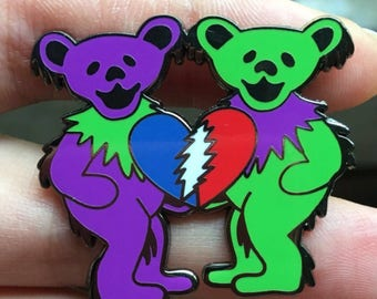 Grateful Dead summer 2017 ( part of they love each other series) Hat Pin. Pre-order ships around July 20.