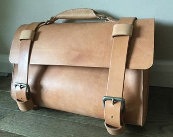 Handmade Vegtan Leather Satchel