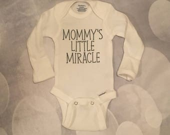 Mommy's Little Miracle Onesie
