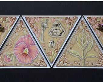 Tints on Tan™   A ZenTANical Garden in 3z