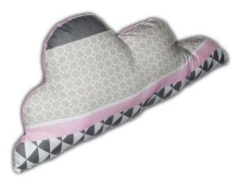 Cushion cloud pink metric
