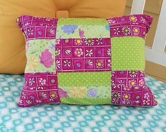 Teen camping pillow, washable camping pillow, small tent pillow, camping pillow, girls camp pillow, college dorm pillow, dorm pillow,