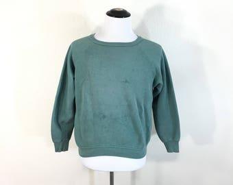 60's 70's vintage healthknit cotton poly blend sweatshirt blank made in usa size M