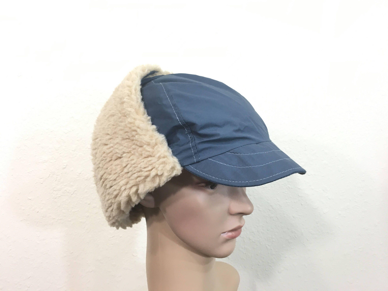 e6b2e78a150 80 s vintage columbia gore-tex sherpa trapper hat made in usa size 7 ...