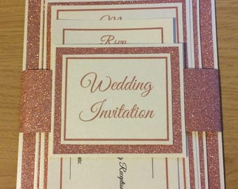 Glitz Layered Invitation