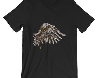 American Indian Wing Feather T Shirt
