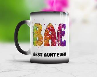 Bae Mug Best Aunt Ever Mug Bae Best Aunt Ever Coffee mug Aunt Mug Birthday Sister Gift Aunt Coffee Cup Best Aunt Mug New Aunt Gift