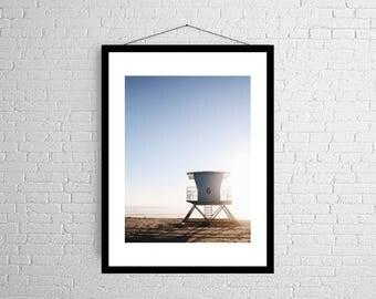 Tower 6   Oceanside   California   Coastal Photography Print
