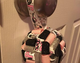Tap dancing inspired holiday ornament