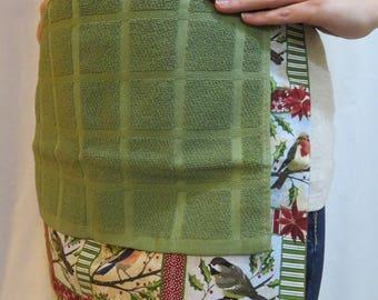 Bird Hand Towel Apron