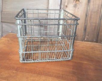 Vintage Steel Crate