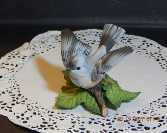 Lenox Tufted Titmouse Porcelain Figurine