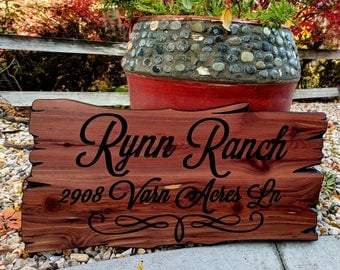 Custom Wood Sign, Personalized Sign, Last Name Sign, Cabin Sign, Wooden Sign, Outdoor Sign, Family Name Sign, Carved Sign, Camp Sign