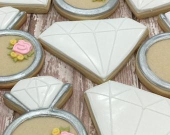 Bling Bling Diamond Ring Set (1 Dozen)
