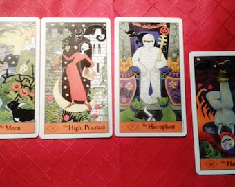 3 month tarot forecast - 4 Cards - Email