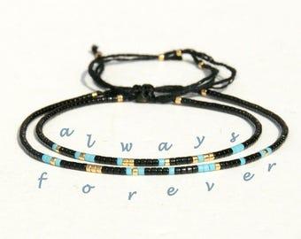 Always Forever Morse Code bracelets Always Forever bracelets Couples Bracelet His Hers bracelets Anniversary gift Matching Bracelet