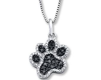 Paw Necklace // Pet Lover