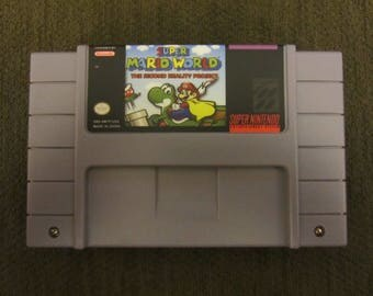 Super Mario World The Second Reality Project Super Nintendo SNES