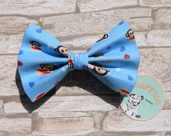 "Bow Tie Bowtie ""Cheeky Monkey"" for dogs, cats or other pets"