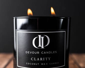 Clarity, Double Wick Candle