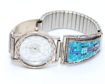 Four Stones Zuni Watch