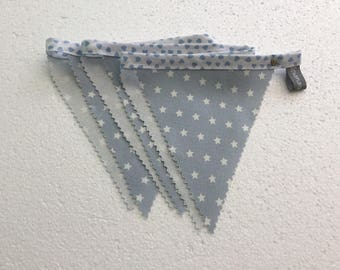 Star bunting - nursery bunting - blue bunting