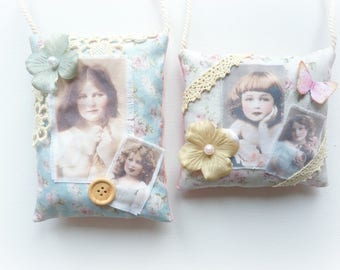 cushions to suspend vintage retro photography little girl