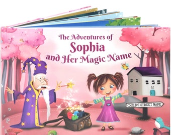 Personalized Gift for Girls -  A Personalized Story Book - A Unique Story Based on the Letters of a Child's Name - NEXT DAY DISPATCH