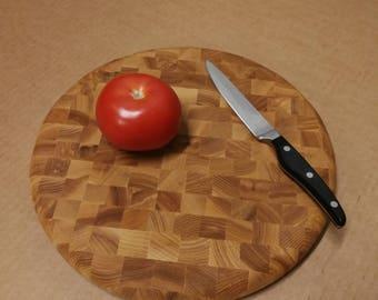 Cutting board End Grain D30x3,2cm