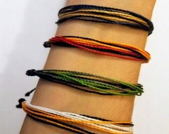 Harry Potter Inspired Multistrand String Bracelet