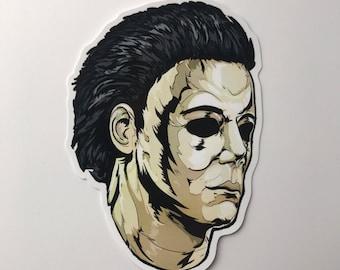 Michael Myers Halloween Horror Vinyl Sticker