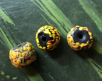 3 Fantastic END-OF-DAY Beads, Rita Okrent Collection! African Trade Beads