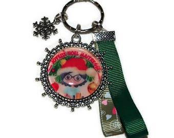 Key Merry Christmas centerpiece