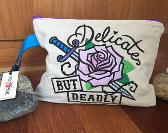 Delicate But Deadly Clutch Purse