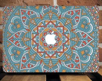 Vintage Mandala MacBook Air Cover MacBook 12 Case Macbook Pro Retina Hard Case MacBook Air 13 Case MacBook Cover Macbook Case 15 WCm148