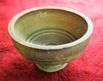 Cypriot Bi-chrome Ware Pottery Cup 6th Century BC (Iron Age, Cypro-Archaic II) Period