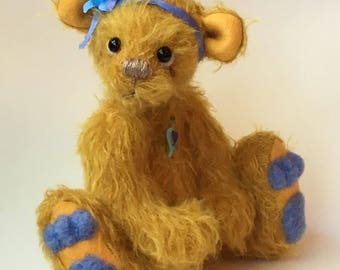 OOAK Mohair Artist Bear by Chicago Bear Co: Willow