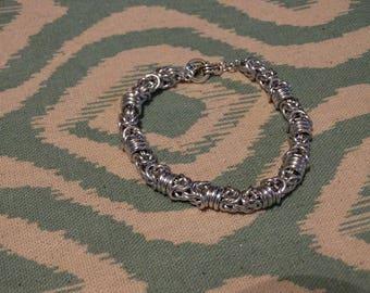 Rolling Byzantine Bracelet