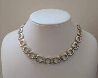 ON SALE Tiffany & Co. Elsa Peretti Sterling Silver Necklace - Estate Find