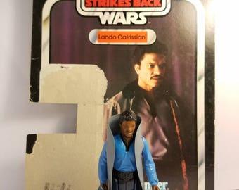 Vintage Star Wars Figure Lando Calrissian Non teeth version.