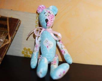 Handmade Bear Tilda  Stuffed Toy Decoration