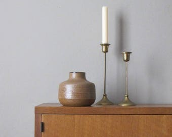 vintage pottery stoneware vase
