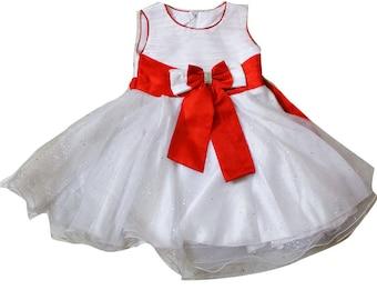 Kids Wear Party Wear Gown Dress Princess White Fairy Dress Girl Tunic Frock Birthday Gift Party Wear Dream Gown Frock