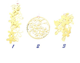 Classical Design, Brass Bookmakers, Flowers, Cherry Blossom